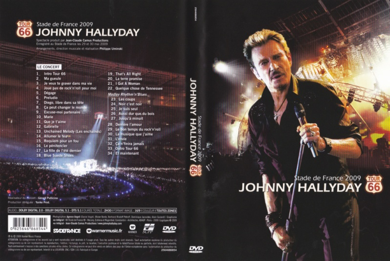66 Best Images About Anime Tarot On Pinterest: Johnny Hallyday Le Web Les DVD De Johnny Hallyday Tour 66