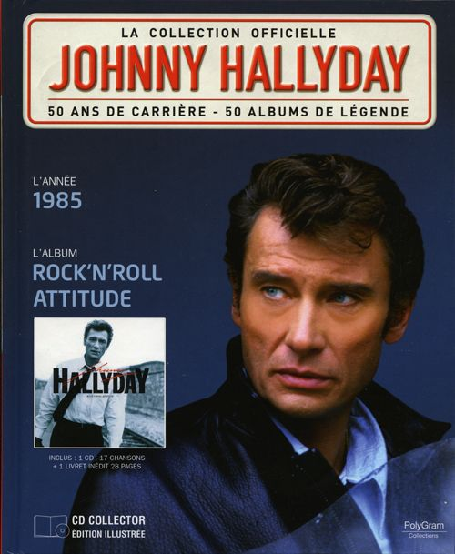 collection johnny hallyday 1985 rock 39 n 39 roll attitude 275379 4. Black Bedroom Furniture Sets. Home Design Ideas