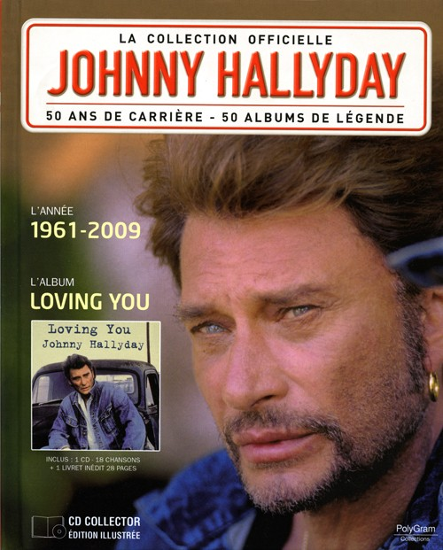 Who Is Johnny Hallyday >> Collection Johnny Hallyday Loving you 1961-2009 276440-2