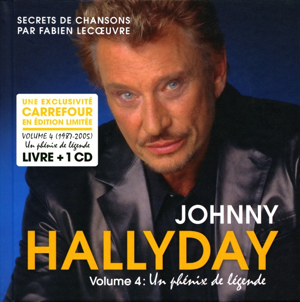 Johnny Hallyday Livre Cd Universal Secrets De Chansons Vol 4